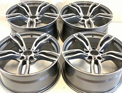 $2305 • Buy 19  WHEELS RIMS BMW FIT  M4 M3 437m M2 Sport 19  STAGGERED FAC STYLE 86094 86095