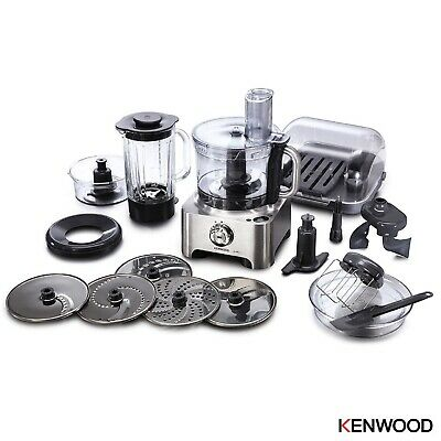 View Details Kenwood MultiPro Sense Food Processor, 1000 W, Silver - FPM810 - BRAND NEW BOXED • 219.00£