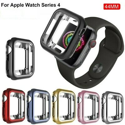 $ CDN12.25 • Buy For Apple Watch Series 4 Case IPhone Watch Colour Case Cover Protector For 44 Mm