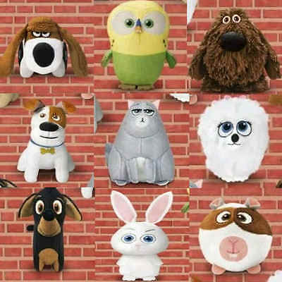 £9.95 • Buy McDonalds Happy Meal Toy 2016 Secret Life Of Pets Movie Plush Toys - Various