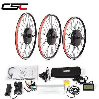 $299 • Buy Ship From US Electric Bicycle Conversion Kit 48V 1000W LCD3 Motor Wheel 26-29in
