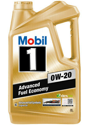 AU94.95 • Buy Mobil 1 0W-20 Full Synthetic Engine Oil 5L 141669