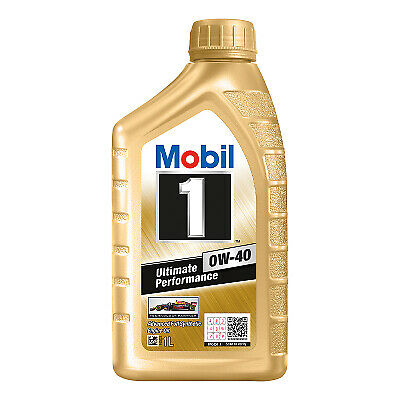 AU29.95 • Buy Mobil 1 0W-40 Full Synthetic Engine Oil 1L 140523