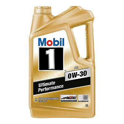 AU75.96 • Buy Mobil 1 FS 0W-30 Full Synthetic Engine Oil 5L 141668