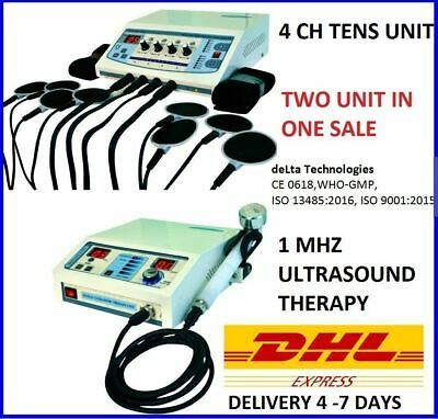 £299 • Buy Brand Ultrasound Therapy Physiotherapy Electrotherapy Machine Pulse Massage