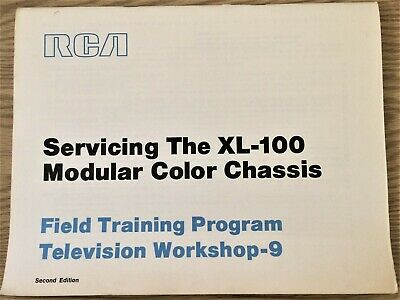 $9.99 • Buy Rare Vintage RCA Servicing XL-100 Field Training Program Television Workshop 9