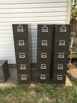 3 General Fireproofing File Cabinets • 89$