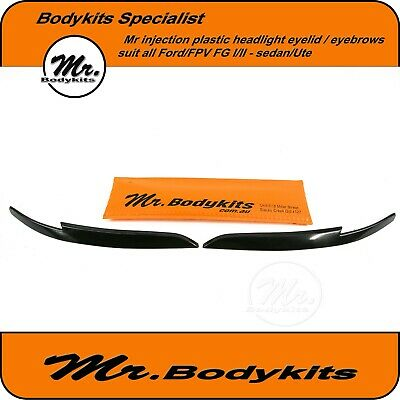 AU39 • Buy Mr Eye Lid/ Headlight Eyebrows Suit FG Ford Falcon XR6/XR8/G6/G6E/XT Sedan/Ute