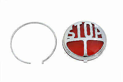 Tail Lamp Lens Kit Stop Style Red For Harley Davidson By V-Twin • 31.64£