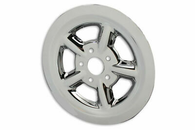 Rear Pulley Cover 68 Tooth Chrome For Harley Davidson By V-Twin • 48.96$