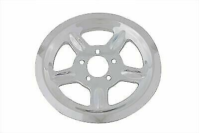 Chrome Rear Pulley Cover 68 Tooth For Harley Davidson By V-Twin • 51.40$