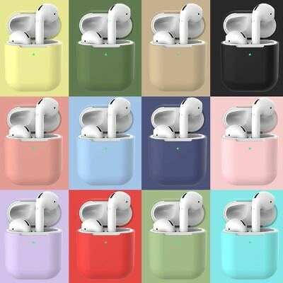 $ CDN1.39 • Buy Premium Airpods Silicone Case Cover Protective Skin For Apple New Airpod 2 / 1