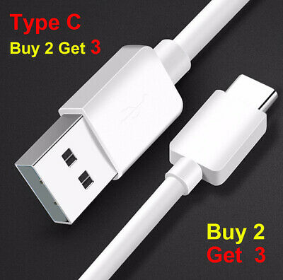 AU3.95 • Buy Type C Cable USB C Data & Charger Cable For Samsung Google Huawei 1.0M
