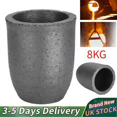 Silicon Carbide Graphite Furnace Casting Foundry Crucible Ingot Melting Tool 8Kg • 16.19£