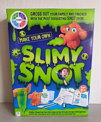 AU16.95 • Buy Brand New In Box Hinkler Brand Make You Own Slimy Snot Slime Kit Ages 8+ Years