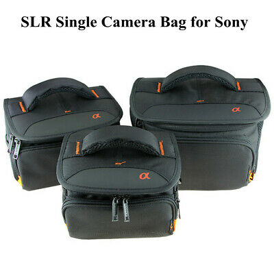 AU24.94 • Buy SLR Single Bag Camera Bag For Sony A6000 A6300 A5100 A7M2 With Strap Waterproof