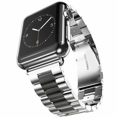 $ CDN10.99 • Buy Stainless Steel Band Strap Clasp For IWatch Series 5 4 3 2 1 38/40/42/44mm Band