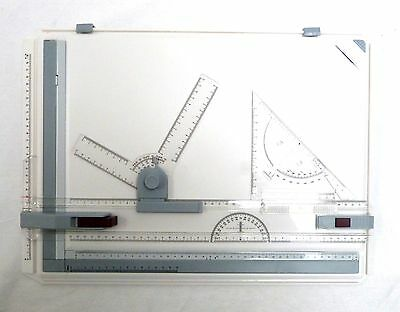 A3 Drawing Board Art Architecture Parallel Motion Adjustable Angle • 21.99£
