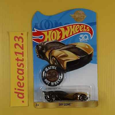 $ CDN16.78 • Buy Sky Dome ( GOLD ) 50th Anniversary 2018 Hot Wheels Special Limited Edition