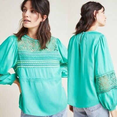 $ CDN91.50 • Buy New Anthropologie Sunshine Peasant Top By Bl-nk. Size XL
