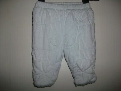 £2.50 • Buy Coco Baby Boys Stitched Padded Winter Trousers - Age 0-3 Months