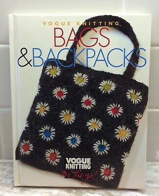$8.99 • Buy Vogue Knitting Bags & Backpacks On The Go Pattern Book 2000 Butterick Publishing