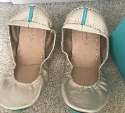 $ CDN373.47 • Buy New In Box Champagne Tieks Ballet Flats, Size 7