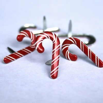 $2.25 • Buy Candy Cane Brads ** 8 Pcs ** See My Store **christmas