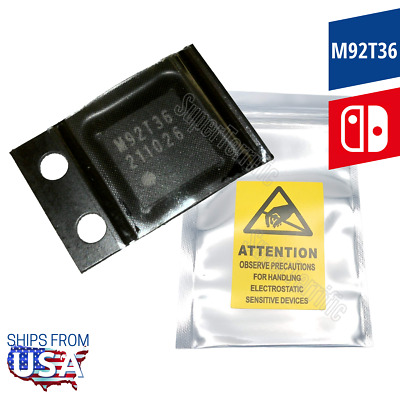 $6.33 • Buy New M92T36 Charge Power Control IC Chip ⚡ For Nintendo Switch Motherboard OEM