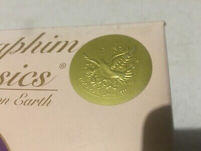"""$8 • Buy Seraphim Angel """"Celestrial Sounds"""" 1999 Earn Your Wings, Rare Numbered Lot#5"""