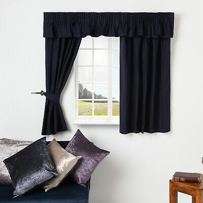 £18.95 • Buy Caravan  Curtains Fully Lined Ready Made In Herringbone Design Made To Measure