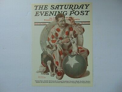$ CDN8.94 • Buy Saturday Evening Post MAY 26,1923  (REPRINT) Norman Rockwell (COVER ONLY)