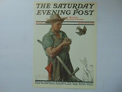 $ CDN8.94 • Buy Saturday Evening Post AUG 18,1923  (REPRINT) Norman Rockwell (COVER ONLY)