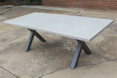 AU1399 • Buy Switch - 2200mm Concrete Outdoor Table