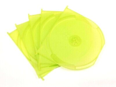 Lot Of 5 Green Swing Trays For XBOX 360 Games (Holds 1 Disc Each) • 5.99$