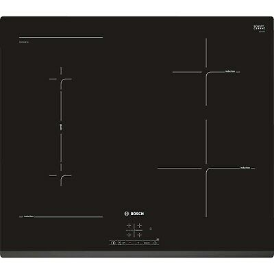 Bosch PWP631BF1B Serie 4 Four Zone Induction Hob - Black PWP631BF1B • 520.97£