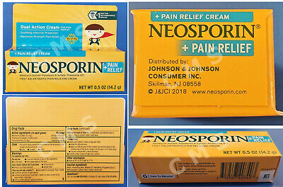 NEOSPORIN PLUS Maximum Strength Pain Relief Cream For Children Kids 2+ 0.5oz • 4.86£