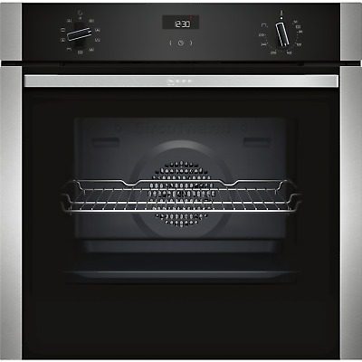 £498.99 • Buy Neff N50 Single Oven With Catalytic Cleaning - Stainless Steel