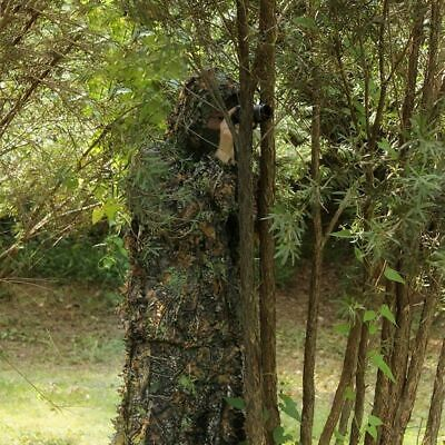 Uk Seller Ghillie Suit 3d Camo Leaf Woodland Shooting / Photography Camouflage  • 18.90£