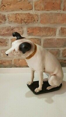 Vintage HMV Large Nipper Dog His Masters Voice- Great Condition • 255£