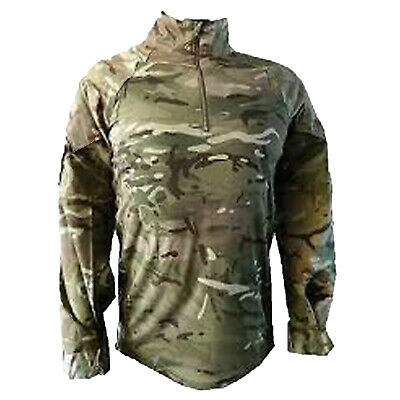 Genuine British Army MTP UBACS Pattern Warm Weather Under Armour Shirt • 20£