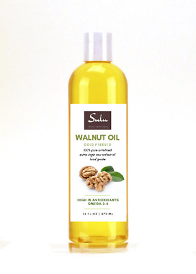 $25.99 • Buy 24 Oz Best Quality 100% Pure Organic Walnut Oil Cold Pressed