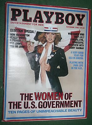 $ CDN12.69 • Buy Playboy Nov 1980 POM Jeana Tomasino Women Of The Gov Larry Hagman Interview