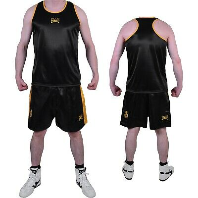 £17.50 • Buy MAR Boxing Shorts And Vest Attire With Elasticated Drawstring Waistband