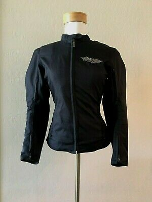 Street And Steel Ride The Life Women's Armored Padded Motorcycle Jacket -XS • 69.99$
