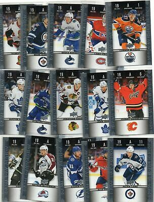 $ CDN0.99 • Buy 2019-20 TIM HORTONS HGD .50 Cent Hockey Card U Pick TWO Cards For .99cents CHEAP