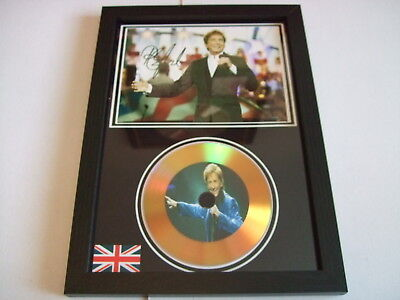 Barry Manilow    Signed  Gold Cd  Disc  91 • 19.98£