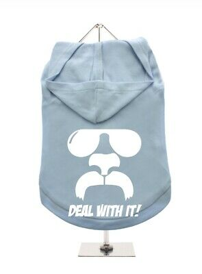 £7 • Buy  Deal With It!'' Dog Hoodie