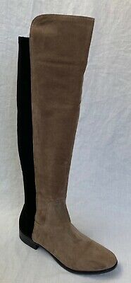 BNIB Clarks Caddy Belle Taupe Suede And Elastic Over The Knee Boots  • 59.99£