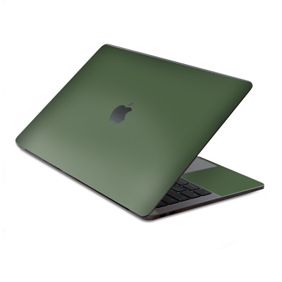 $15.98 • Buy Skin Decal Wrap For MacBook Pro 13  Retina Touch  Solid Olive Green